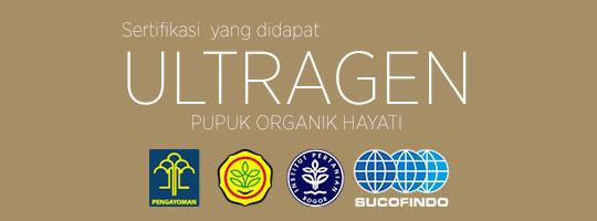 Sertifikasi yang dimiliki Ultragen